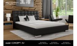 Łóżko tapicerowane New Concept model XV