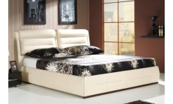 Apollo Relax łóżko tapicerowane z regulacją zagłówka polskiej firmy New Elegance