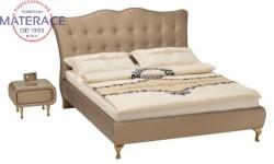Princessa śliczne łóżko tapicerowane polskiej firmy New Elegance
