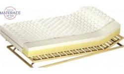 Materac z pianką termoelastyczną Medivis o właściwościach ortopedycznych